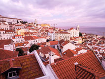 Cityscape of Lisbon, Portugal Royalty Free Stock Image