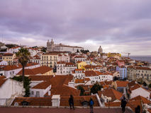 Cityscape of Lisbon, Portugal Royalty Free Stock Images