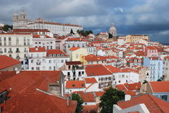 Cityscape of Lisbon, Portugal Stock Photos