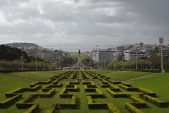 Cityscape of Lisbon, Portugal Royalty Free Stock Photos