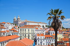 Cityscape of Lisbon Stock Photos