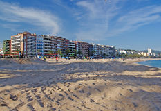 Cityscape of Lloret de Mar. Royalty Free Stock Image