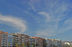 Cityscape of Lloret de Mar. Royalty Free Stock Images