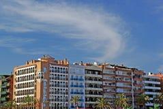 Cityscape of Lloret de Mar. Stock Images