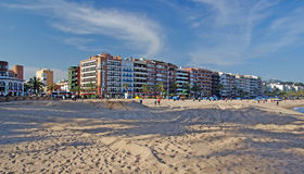 Cityscape of Lloret de Mar. Stock Photo