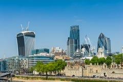 cityscape london Arkivfoton