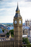 Cityscape of London  with  Big Ben and  Westminster Abbey . Englan Stock Photos
