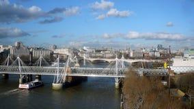 Cityscape London - materielbild Arkivfoto