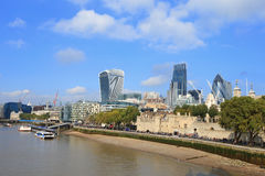 Cityscape of London Stock Photos