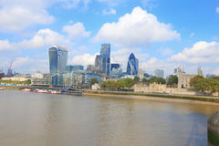Cityscape of London Royalty Free Stock Images