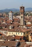 View of city of Lucca, Italy Stock Photos