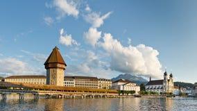Cityscape of Lucerne, Switzerland Royalty Free Stock Photography