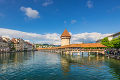 Cityscape of Lucerne, Switzerland Royalty Free Stock Photography