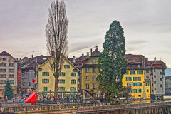 Cityscape of Lucerne Royalty Free Stock Image
