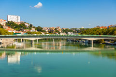 Cityscape of Lyon, France Royalty Free Stock Photos