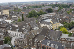 Cityscape of Maastricht royalty free stock image