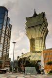 cityscape macao arkivbild