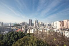 Macao. Cityscape of the  macao china Royalty Free Stock Photos