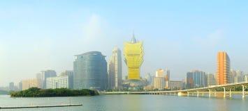 Cityscape of Macau Stock Photos