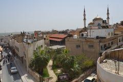 Cityscape of Madaba, Jordan Stock Photo