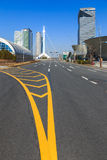 Cityscape, Main Road To Seoul, Korea Stock Photography