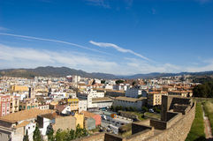 Cityscape of Malaga Royalty Free Stock Image