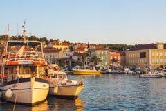 Cityscape of Mali Losinj, Croatia. Cityscape of Mali Losinj, island Losinj, Croatia Royalty Free Stock Image