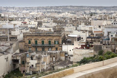 Cityscape in Malta. Special mood of a city landscape in malta Royalty Free Stock Photography