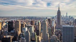 Cityscape of Manhattan Royalty Free Stock Photo
