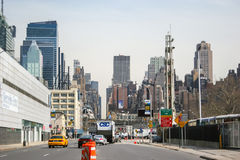Cityscape of Manhattan Stock Image