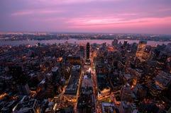 Cityscape of Manhattan, New York Royalty Free Stock Photos