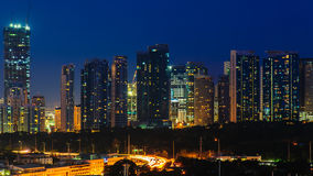 Cityscape of manila city, philippines Royalty Free Stock Photography