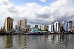 Cityscape of Manila Royalty Free Stock Photo