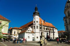 Cityscape of maribor Royalty Free Stock Photo