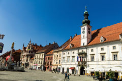 Cityscape of maribor Royalty Free Stock Photography