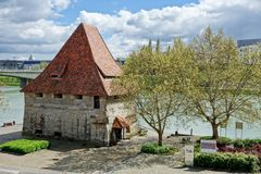 Cityscape of Maribor, Slovenia Stock Images