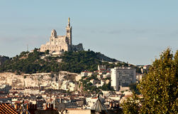 Cityscape of Marseille Royalty Free Stock Photography