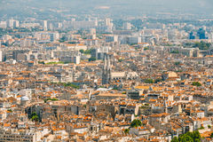 Cityscape of Marseille, France. Urban background Stock Photo