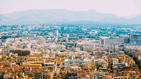 Cityscape Of Marseille, France. Urban Background. Summer Stock Photography