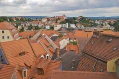 Cityscape of Meißen Stock Photo