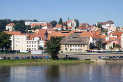 Cityscape of Meissen in Germany Royalty Free Stock Photography