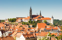 Cityscape of Meissen Royalty Free Stock Image