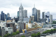 Cityscape Melbourne Royalty Free Stock Image