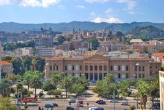 Cityscape Messina Royalty Free Stock Image