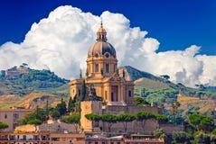 Cityscape of Messina, Sicily, Italy Royalty Free Stock Photos