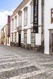 Cityscape met huizen in Las Palmas, Gran Canaria, Spanje Royalty-vrije Stock Fotografie