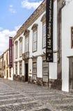 Cityscape met huizen in Las Palmas, Gran Canaria, Spanje Stock Fotografie