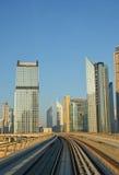 Cityscape, Metro, Dubai Royalty Free Stock Image