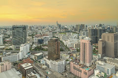 Cityscape in middle of Bangkok,Thailand Stock Photography