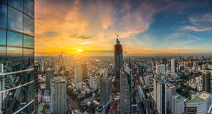 Cityscape in middle of Bangkok,Thailand. 1 Stock Photography